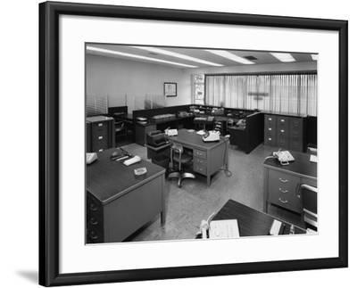 Office Furniture--Framed Photographic Print