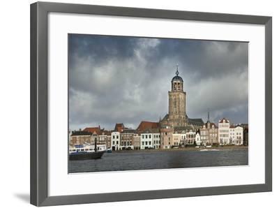 Netherlands, Deventer, City Skyline-Frans Lemmens-Framed Photographic Print