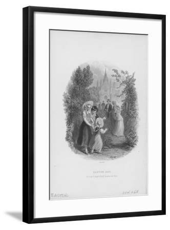 Easter Day Celebration-Archive Photos-Framed Photographic Print