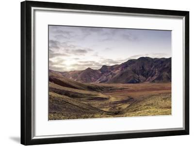 Iceland Landmannalaugar Autumn Colors-spreephoto.de-Framed Photographic Print