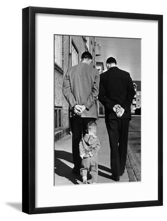 Like Father Like Son Photographic Print By Keystone Artcom