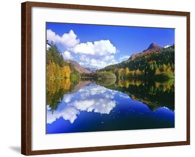 Glencoe Lochan, Scotland-Kathy Collins-Framed Photographic Print
