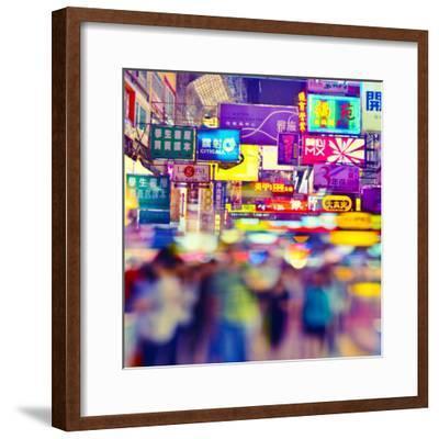 Manga Hong Kong-rogvon photos-Framed Photographic Print