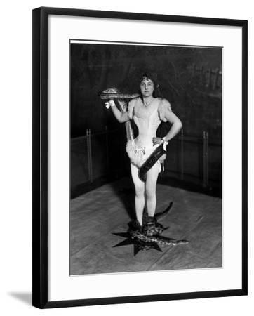 Snake Charmer-Reinhold Thiele-Framed Photographic Print