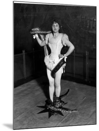 Snake Charmer-Reinhold Thiele-Mounted Photographic Print