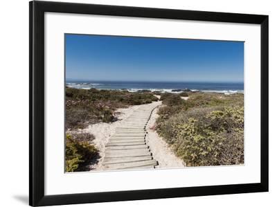 Boardwalk Leading towards the Beach-Eric Audras-Framed Photographic Print