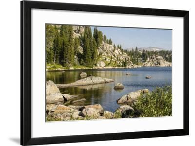Beartooth Pass, Wyoming and Montana--Framed Photographic Print