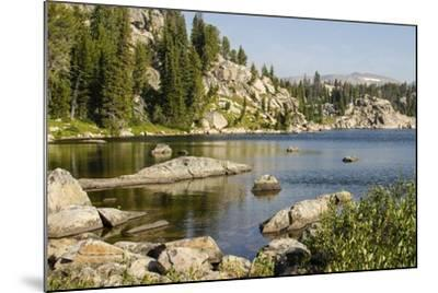 Beartooth Pass, Wyoming and Montana--Mounted Photographic Print