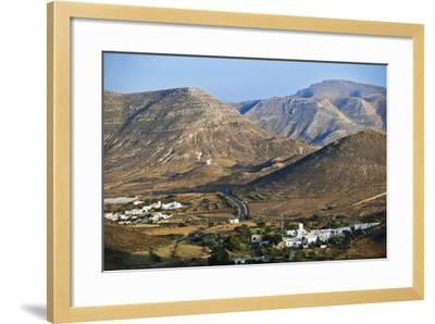 Volcanic Landscape in Cabo De Gata.-Gonzalo Azumendi-Framed Photographic Print