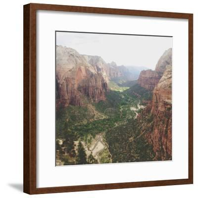 Angels Landing View-Kevin Russ-Framed Photographic Print