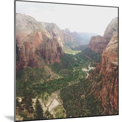 Angels Landing View-Kevin Russ-Mounted Photographic Print