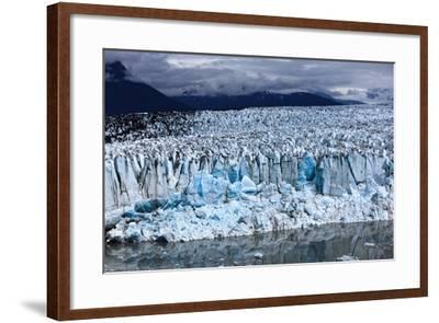Leading Edge of Glacier and Glacial Pond-Adam Jones-Framed Photographic Print
