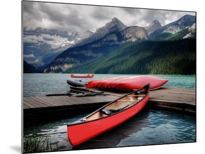 Banff National Park (Lake Louise)-Rex Montalban Photography-Mounted Photographic Print