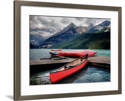 Banff National Park (Lake Louise)-Rex Montalban Photography-Framed Photographic Print