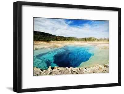 Yellowstone Sapphire Pool-www.infinitahighway.com.br-Framed Photographic Print