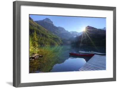Lake O'hara Morning-photosbygar photography-Framed Photographic Print