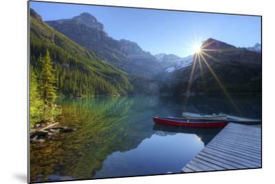 Lake O'hara Morning-photosbygar photography-Mounted Photographic Print