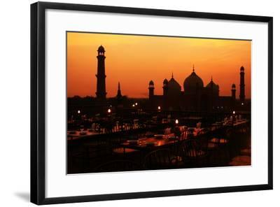 Badshahi Mosque-Srosh Anwar Photography-Framed Photographic Print