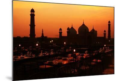 Badshahi Mosque-Srosh Anwar Photography-Mounted Photographic Print