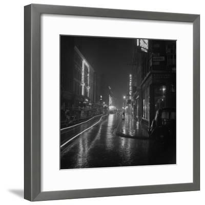 Soho by Night-BIPS-Framed Photographic Print