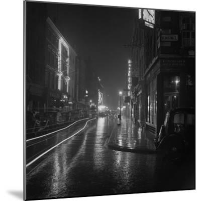 Soho by Night-BIPS-Mounted Photographic Print