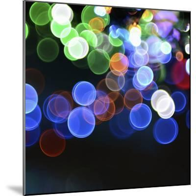 Magical Lights Background-kai zhang-Mounted Photographic Print