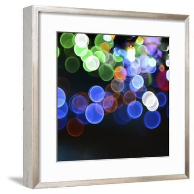 Magical Lights Background-kai zhang-Framed Photographic Print