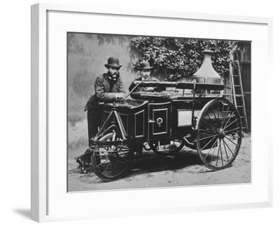 Steam Wagon-Hulton Archive-Framed Photographic Print
