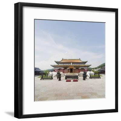 Tianmen Temple in Tianmen Forest National Park-Ed Freeman-Framed Photographic Print
