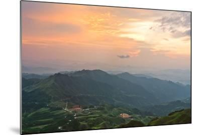Vietnam Landscape at Sunset-Long Hoang-Mounted Photographic Print