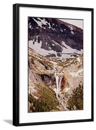 Telluride, Colorado, Mountain Waterfall-Kayla Sawyer-Framed Photographic Print