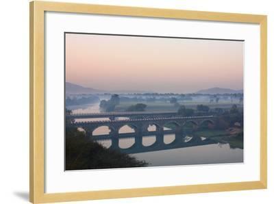 Indryani River-Photograph by Nilanjan Sasmal-Framed Photographic Print