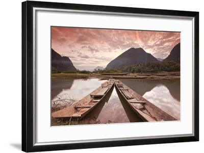 Way to Paradise (Lao Dpr)-All rights reserved - Copyright-Framed Photographic Print