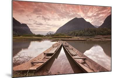 Way to Paradise (Lao Dpr)-All rights reserved - Copyright-Mounted Photographic Print