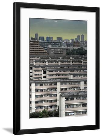 Southeastern Tokyo Buildings-Chris Jongkind-Framed Photographic Print