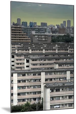Southeastern Tokyo Buildings-Chris Jongkind-Mounted Photographic Print