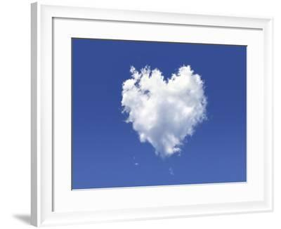 Heart-Shaped Cloud, Artwork-LEONELLO CALVETTI-Framed Photographic Print