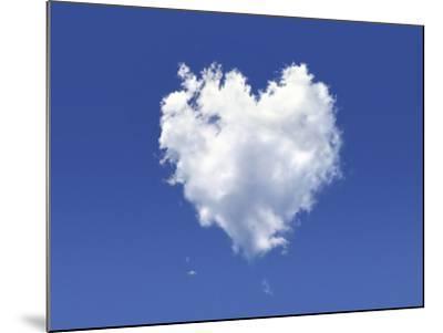 Heart-Shaped Cloud, Artwork-LEONELLO CALVETTI-Mounted Photographic Print