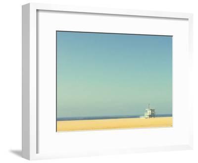 Life Guard Tower-Denise Taylor-Framed Photographic Print