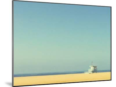 Life Guard Tower-Denise Taylor-Mounted Photographic Print
