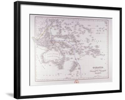 Oceania (Australia, Polynesia, and Malaysia)-Fototeca Gilardi-Framed Photographic Print