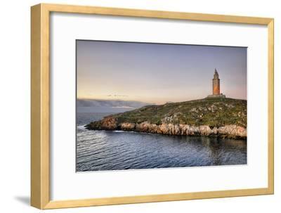 Tower of Hercules-Carlos Fernandez-Framed Photographic Print