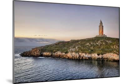Tower of Hercules-Carlos Fernandez-Mounted Photographic Print