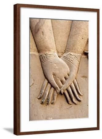 Holding Hands-Joe & Clair Carnegie / Libyan Soup-Framed Photographic Print