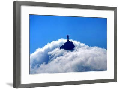 Jesus in the Sky-Doreen Reichmann www.doreen.es-Framed Photographic Print