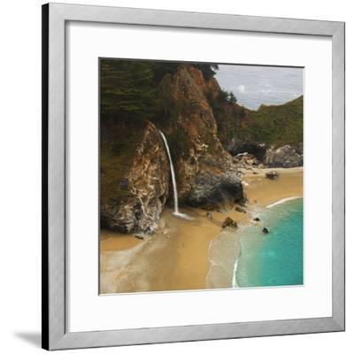 Waterfall-Robert Dalton-Framed Photographic Print