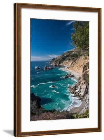 Cliff Coast-Norbert Kurzka - Photography-Framed Photographic Print