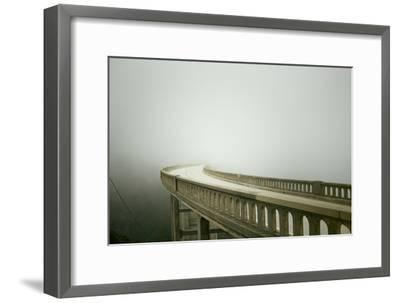 Bixby Bridge in Big Sur-Smari-Framed Photographic Print