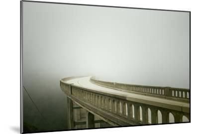 Bixby Bridge in Big Sur-Smari-Mounted Photographic Print