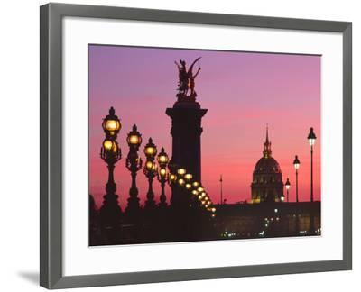 Pont Aleandre, Paris-Brian Lawrence-Framed Photographic Print